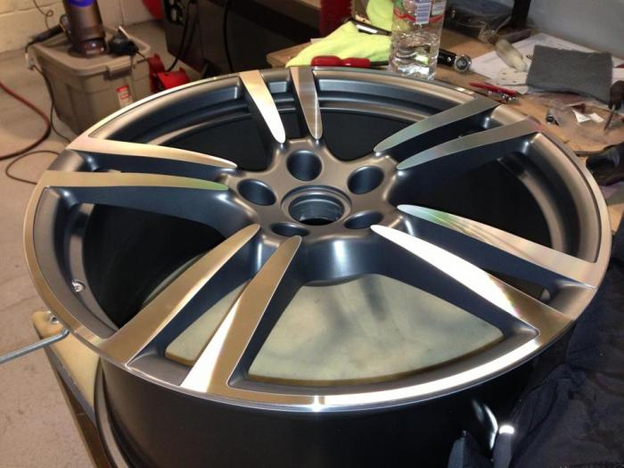 Examples Of Alloy Wheel Repairs Cardiff Wales Bristol Swansea