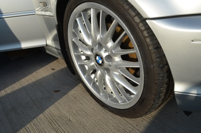 After Alloy Wheel Refurbishment